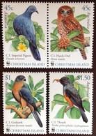 Christmas Island 2002 WWF Birds MNH - Zonder Classificatie