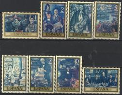 España, 1972, Dìa Del Sello, Solana, Serie Completa, MNH** - 1971-80 Nuevos & Fijasellos