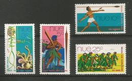 Niue - 1972  Fiji 72 Arts Festival MNH **     SG 166-9   Sc 147-50 - Niue