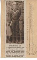 CPA Franchise Militaire (5) Général Von Kluck & Von Einem  Spahi De 18 Ans Un Teritorial De 14 Ans L'enfant Du Régiment - Lettere In Franchigia Militare