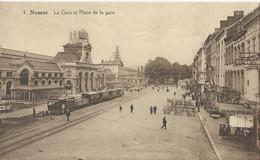 Namen - Namur - La Gare Et Place De La Gare - Namur