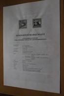 Österreich Amtl. Schwarzdruck Auf Erläuterungsblatt: Volksbrauchtum, 1998 - Non Classificati