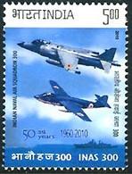 Inde India Indien 2010 Naval Air Squadron 300 Hawker Sea Hawk, British Aerospace Sea Harrier - Airplanes
