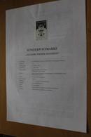 Österreich Amtl. Schwarzdruck Auf Erläuterungsblatt: Wiener Secession, 1998 - Non Classificati