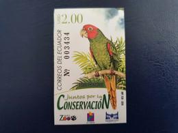 Equador 2006. Papegaai, Perroquet, Parrot - Zonder Classificatie
