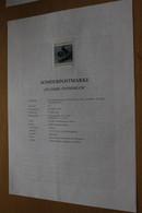 Österreich Amtl. Schwarzdruck Auf Erläuterungsblatt: 200 Jahre Steindruck, 1998 - Non Classificati