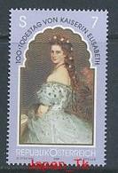 ÖSTERREICH Mi.Nr. 2265 100. Todestag Von Kaiserin Elisabeth- MNH - 1991-00 Nuovi & Linguelle