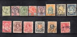 1516 490 - SIAM , 14 Esemplari Usati Diversi - Siam