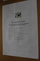 Österreich Amtl. Schwarzdruck Auf Erläuterungsblatt: Jagd Und Umwelt: Birkwild, 1998 - Non Classificati