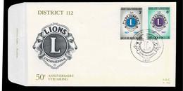 FDC  : Nr 1404/05  Stempel: Liege - 1961-70