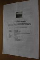 Österreich Amtl. Schwarzdruck Auf Erläuterungsblatt: Nationalpark Kalkalpen/Oberösterreich, 1998 - Non Classificati