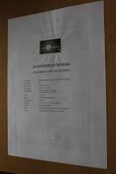 Österreich Amtl. Schwarzdruck Auf Erläuterungsblatt: Licht Ins Dunkel, 1997 - Non Classificati