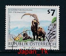 ÖSTERREICH Mi.Nr. 2306 Jagd Und Umwelt - Wiedereinbürgerung Des Steinwildes - Used - 1991-00 Usati