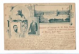 Souvenir Du Voyage De Mr Félix Faure En Russie Aout 1897 - Politicians & Soldiers