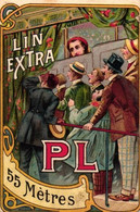 1 Calendrier 1909 Lin Extra PL Fil à L'Indienne Circus Clown Peeping Show - Small : 1901-20