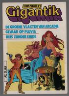 Koralle Gary Publishing Gigantik Strip-pocket N° 1:  De Groene Vlakten Van Arcadië Gevaar Op Pluvia Reis Zonder ... 1982 - Tony Stark
