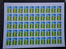 Russia 2000 PROOF Imperforate FULL Sheet Europa Double Print - Blocks & Sheetlets & Panes