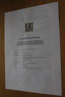 Österreich Amtl. Schwarzdruck Auf Erläuterungsblatt: Turmblasen/Oberösterreich, 1997 - Non Classificati