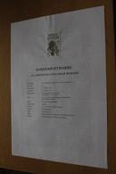 Österreich Amtl. Schwarzdruck Auf Erläuterungsblatt: Oskar Werner, 1997 - Non Classificati