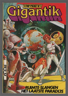 Koralle Gary Publishing Gigantik Strip-pocket N° 2:  Ruimte-slangen Het Laatste Paradijs 1982 - Andere