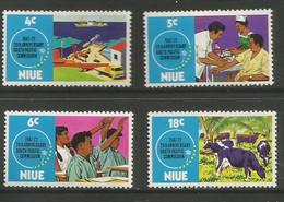 Niue - 1972  South Pacific Commission MNH **     SG 170-3   Sc 151-4 - Niue