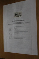 """Österreich Amtl. Schwarzdruck Auf Erläuterungsblatt: Arbeitswelt: """"Gemeindebedienstete"""", 1997 - Non Classificati"""