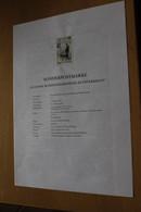 Österreich Amtl. Schwarzdruck Auf Erläuterungsblatt: Blindenselbsthilfe, 1997 - Non Classificati