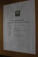 Österreich Amtl. Schwarzdruck Auf Erläuterungsblatt: Universität Für Bodenkultur, 1997 - Non Classificati