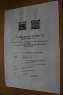 Österreich Amtl. Schwarzdruck Auf Erläuterungsblatt: Eisenbahnen, 1997 - Non Classificati