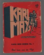 Bell Studio Karl May Avonturen Kara Ben Nemsi N°. 1 Het Huis Aan De Nijl (Abas (Ben) [Abas (B.)]) 1954 - Karl May