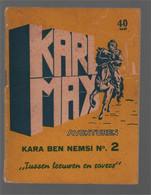 "Bell Studio Karl May Avonturen Kara Ben Nemsi N°. 2 ""Tussen Leeuwen En Rovers"" (Abas (Ben) [Abas (B.)]) 1954 - Karl May"