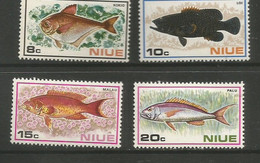 Niue - 1973  Fish MNH **     SG 175-8   Sc 156-9 - Niue