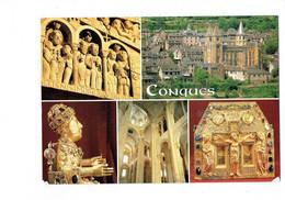 Cpm - 12 - CONQUES - ABBATIALE Sainte Foy - Reliquaire De Pépin - DEBAISIEUX - 2002 - Other Municipalities
