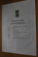 Österreich Amtl. Schwarzdruck Auf Erläuterungsblatt: Tag Der Briefmarke 1997, 1997 - Non Classificati
