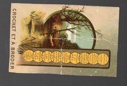 Calendrier  1887 BROOK's Coton  à Coudre  (entourage Découpé)  (PPP28213) - Formato Piccolo : ...-1900