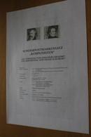 Österreich Amtl. Schwarzdruck Auf Erläuterungsblatt: Johannes Brahms Und Franz Schubert, 1997 - Non Classificati