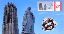 """Fotokaart Met Mystamp Mechelse Postzegelkring """"Opsinjoor"""" 19-12-2009 - Persoonlijke Postzegels"""