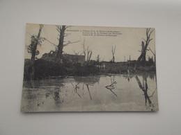 BOESINGHE / BOEZINGE: Ruines - Kasteel Van M. De Thibault Van Boesinghe - Guerra 1914-18