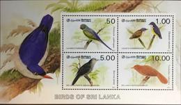 Sri Lanka 1987 Birds Minisheet MNH - Zonder Classificatie