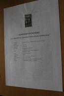 Österreich Amtl. Schwarzdruck Auf Erläuterungsblatt: Erich Wolfgang Korngold, 1997 - Non Classificati