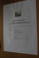 Österreich Amtl. Schwarzdruck Auf Erläuterungsblatt: Nussberg-Leopoldsberg/Wien, 1997 - Non Classificati
