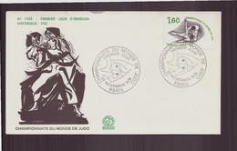 """France, FDC, Enveloppe Du 24 Novembre 1979 à Paris """" Championnats Du Monde De Judo """" - 1970-1979"""