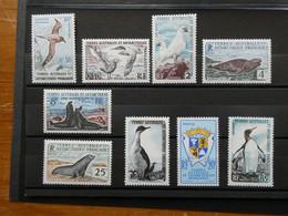 TAAF Terres Australes Et Antarctiques Françaises Neuf Sans Charnière  Poste N°12 à 17 Cote 262 € - Ungebraucht