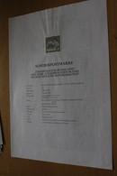 Österreich Amtl. Schwarzdruck Auf Erläuterungsblatt: Sternsingen/Burgenland, 1997 - Non Classificati