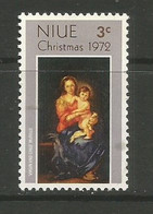 Niue - 1972  Christmas MNH **     SG 174   Sc 155 - Niue