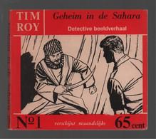 Nooitgedacht Tim Roy N° 1 Geheim In De Sahara 1960 - Andere
