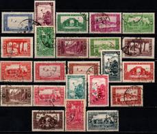 ALGERIA - 1936 - VEDUTE DELLE CITTA' DELL'ALGERIA - USATI - Usati