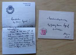 1886 LECHWALD GRAZ+5 Kr.BRIEF+AUTOGRAMM HEINRICH GRAF VON ATTEMS-BB913 - Storia Postale