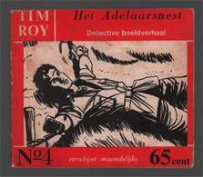 Nooitgedacht Tim Roy N° 4 Het Adelaarsnest 1960 - Andere