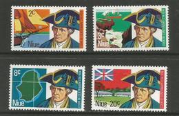 Niue - 1974  Captain Cook MNH **     SG 182-5   Sc 163-6 - Niue